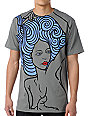 Volcom Lounge Girl Charcoal T-Shirt
