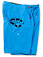 Volcom Maguro Solid Blue 22 Board Shorts