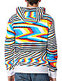 Volcom Mens Peepers White Zip Up Hoodie
