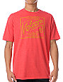 Volcom Rooc Script Heather Red T-Shirt