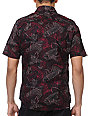Volcom Waster Plum Short Sleeve Button Up Shirt