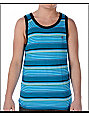 Volcom Wester Blue Stripe Tank Top