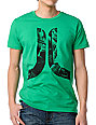 WeSC Icon Crowd Green T-Shirt