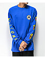 Welcome Tasmanian Royal Blue Long Sleeve T-Shirt