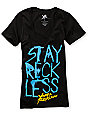 Young & Reckless Stay Reckless Black T-Shirt