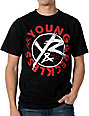 Young & Reckless Zero Black T-Shirt
