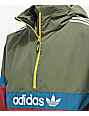 adidas BB Noble, Green & Tea Snowbreaker