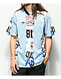 adidas Mark Gonzales Blue & White Jersey