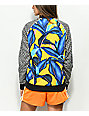 adidas x Farm Leaf Blue & Yellow Track Jacket