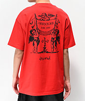 4Hunnid Angels camiseta roja