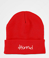 4Hunnid gorro rojo