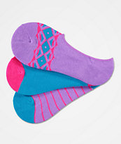 A-Lab Angie 3 Pack No Show Socks