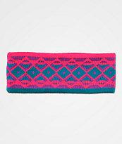 A-Lab Donna Purple & Pink Knit Headband