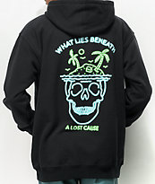 A Lost Cause Lies Beneath Black Hoodie