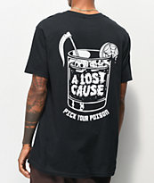 A Lost Cause Poison Black T-Shirt