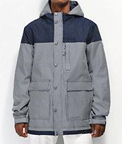 Aperture Double Diamond Rail10K chaqueta de snowboard azul marino