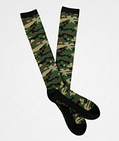 Aperture Dowdy calcetines de snowboard de camuflaje