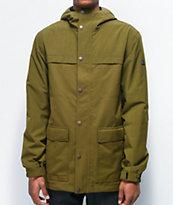 Aperture Pigtail 10K chaquetas de snowboard verde oliva
