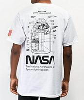 Artist Collective NASA Apollo 14 White T-Shirt