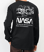 Artist Collective x NASA Dock Black Long Sleeve T-Shirt