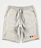 Bobby Tarantino by Logic Peace, Love & Positivity Grey Sweat Shorts