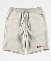 Bobby Tarantino by Logic Peace, Love & Positivity shorts de punto gris
