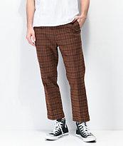 Brixton Regent pantalones marrones