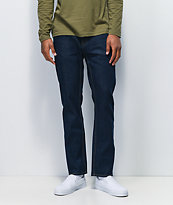 Brixton Reserve jeans de mezclilla de lavado oscuro