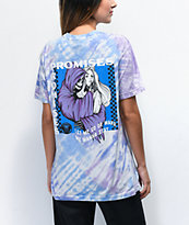 Broken Promises Smother camiseta tie dye azul y morada