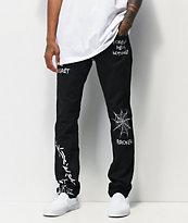 Broken Promises Unforgiven Black Denim Jeans