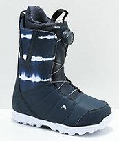 Burton Moto Boa Midnite 2019 botas de snowboard azules