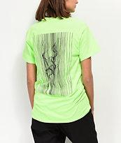 By Samii Ryan Love Potion camiseta verde neón
