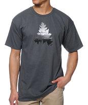 Casual Industree Johnny Tree Rainier camiseta color carbón
