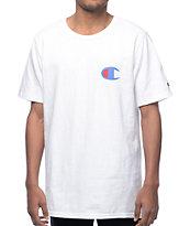 Champion Heritage Patriotic C White T-Shirt