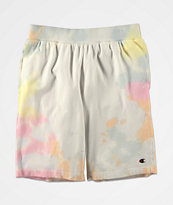 Champion Rainbow Cloud Dye Sweat Shorts