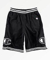Champion Rec shorts de baloncesto en negro