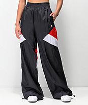 Champion Red, White & Navy Blue Nylon Warm Up Pants