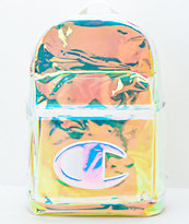 Champion Supercize Clear & Iridescent Backpack