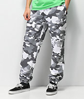 Champion White Camo Super Fleece Sweatpants