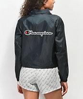 Champion chaqueta entrenador corta en  negro