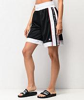 Champion shorts de malla negra