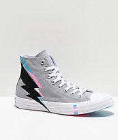 Converse CTAS Hi Pride Wolf zapatos en gris, negro, azul y rosa