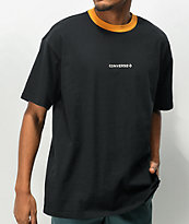 Converse Wordmark Oversize Black Knit T-Shirt