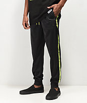 Cookies Citadel Black & Green Track Pants