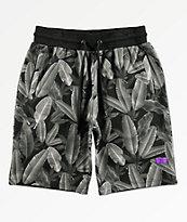Cookies Emerald Triangle shorts grises de cintura elástica