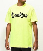 Cookies Thin Mint camiseta verde neón