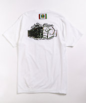Cross Colours Love Sees No Colour White T-Shirt