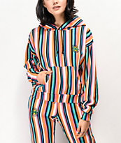Cross Colours Pop Stripe Hoodie