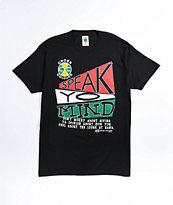Cross Colours Speak Yo Mind Black T-Shirt