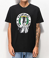 Cross Colours x Tupac Graphic Black T-Shirt